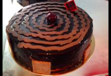 Pâtisserie Chevreux. Forêt noire revisitée