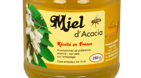 Délices des abeilles. Miel d'acacia