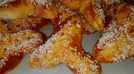 Boulangerie Laurent Saute. Brioches