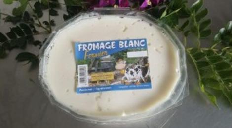 La Ferme Laitiere De Sarramea. Fromage blanc