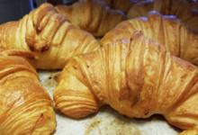 Boulangerie Patisserie Saint-Honoré. Croissants