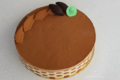 Chocolats Morand. Gâteau royal