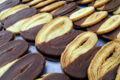 Cake factory. Palmier chocolat