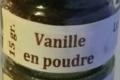 Domaine des épices. Vanille en poudre