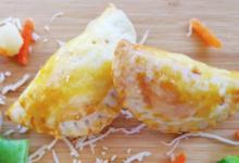 Mitic Traiteur. Chaussons poulet teriyaki, légumes et fromage