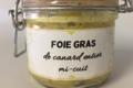 La Ferme de l'Ouest . Foie gras de canard entier mi-cuit