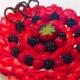 Pâtisserie Sylésie Moorea. Tarte aux fruits rouges