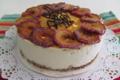 Cheese cake aux pommes caramélisées et speculos