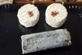 La fromagerie de la Folie. Bûche cendrée