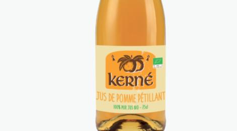 Cidre Kerné, Le jus de pommes pétillant