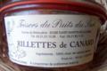 Trésors du Puits du Sart. Rillettes de canard