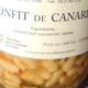 Trésors du Puits du Sart.  Confit de cuisses de canard et lingots