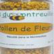 Les ruchers du Montreillois. Pollen de fleurs
