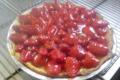 Les jardins de la Molière. tarte aux fraises