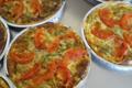 Les jardins de la Molière. tarte courgette tomate