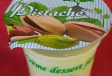 Gaec des hauts prés. Crème dessert pistache