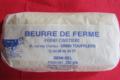 Ferme Cimetière. Beurre demi-sel