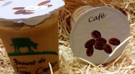 Ferme Cimetière. Crème dessert au café