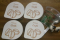 Ferme de la Clarine. yaourt aromatisé au café