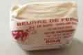 Ferme de Saint Ghislain Marlier. Beurre doux fermier