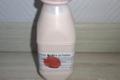 Aux délices de grand mère. yaourt à boire à la fraise