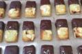 Xav de Lille. mini financiers chocolat noir