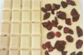 Xav de Lille. tablette chocolat blanc cramberry