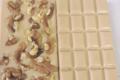 Xav de Lille. tablette chocolat blanc noix