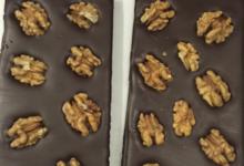 Xav de Lille. tablette chocolat noir aux noix