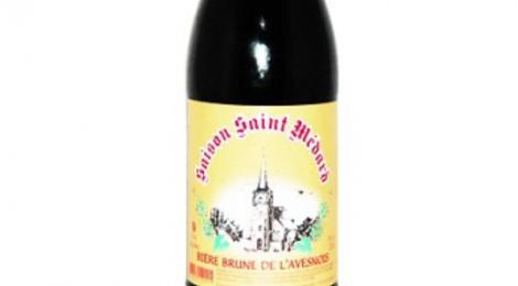 Brasserie au baron. Saison saint Médard Brune