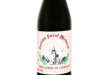 Brasserie au baron. Saison saint Médard Ambrée