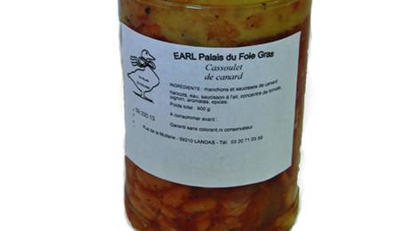 Palais du foie gras. Cassoulet garni au canard