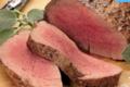 Bisons d'Auvergne. Filet de bison en rôti