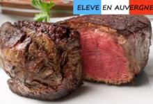 Bisons d'Auvergne. Filet de bison en tournedos