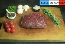 Bisons d'Auvergne. Préparation de viande hachée 100% Bison