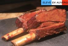 Bisons d'Auvergne. Ribs de Bison précuit à basse température