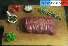 Bisons d'Auvergne. Rôti de Faux-filet de bison