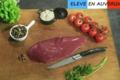 Bisons d'Auvergne. Steaks de bison (onglet, hampe, bavette d'aloyau, merlan, araignée, aiguillette)
