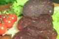 Bisons d'Auvergne. Viande séchée de bison