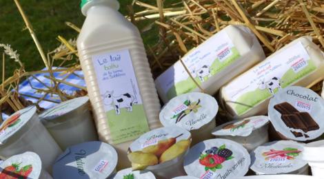 La ferme des Sablières. beurre doux