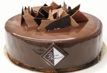 Pierre Chauvet. entremet chocolat