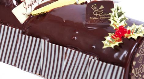 Boulangerie Planckaekt. Bûche 3 chocolat