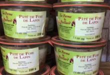La Ferme Du Paillard. Pâté de foie de lapin
