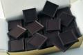 A Trianon, chocolatier confiseur. Carrés chocolat diabétiques