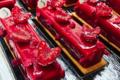 Pâtisserie La Goutte d'Or. Red finger