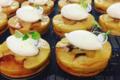Pâtisserie La Goutte d'Or. tarte pomme soufflée