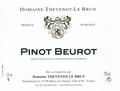 Vin blanc Bourgogne - Pinot Beurot 2017