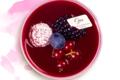 Pâtisserie Gilles Marchal. Panacotta fruits rouges