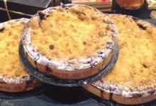 Boulangerie Pauline. crumble clémentine chocolat
