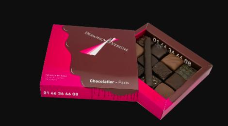 Demoncy - Vergne. Bonbons de chocolat